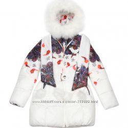 Пальто для девочки Kiko 3312Б 164см Оригинал  тинсуле