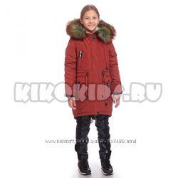 Пальто парка KIKO 4501 новинка 2018