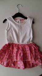 Платье арбузики Primark 9-12мес