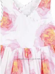 Платье в розы Pumpkin Patch.  3, 4, 5
