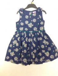 Платье F&F синие 4-5л.