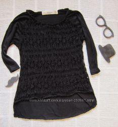 Идеальный ажурный свитер Zara р М