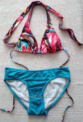 Красочный купальник НМ в идеале верх А-В низ М