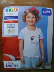 Пижама для девочки 86-92 см Lupilu Германия