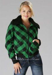 Распродажа Стильная куртка, полушерсть, красный зеленый фиолет - Германия