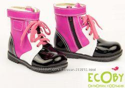 ботинки демисезонные Ecoby Экоби для девочки р. 24-28 в наличии