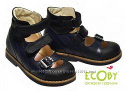 Туфли ортопедические Ecoby Экоби р. 20-32 для девочек и мальчиков в наличии