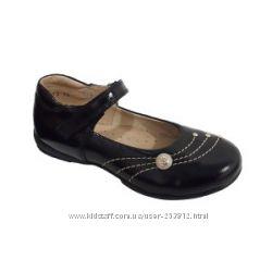 Школьные туфли кожаные ТМ Берегиня для девочек р. 29, 30 черные