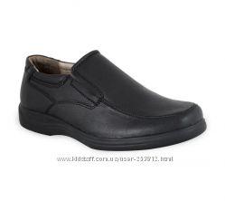 Туфли школьные ортопедические мальчику р. 36-39 ТМ Sursil Ortho