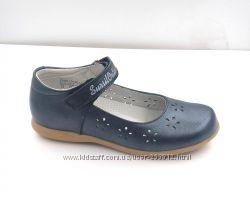 Туфли кожаные девочке р. 27 - 35 Sursil Ortho два цвета