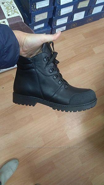 Зимние ортопедические ботинки из натуральной кожи р. 32-40