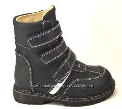 демисезонные  ботинки, сапожки ортопедические Ecoby Экоби р. 20-30
