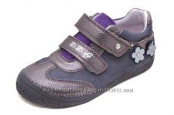 кроссовки, полу-ботинки кожаные, D. D. Step р. 25-27