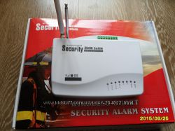 Беспроводная GSM сигнализация Security Alarm System новая
