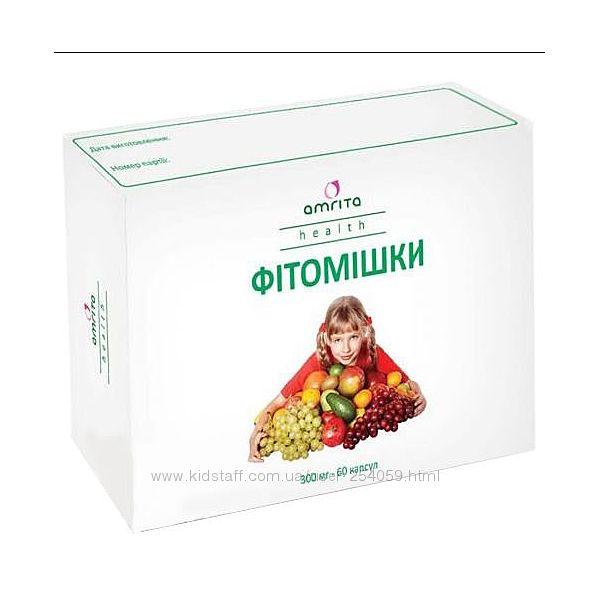 Фитомишки 60кап. - натуральные витамины для школьников