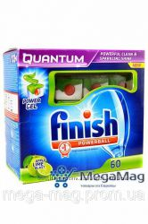 Таблетки FINISH Quantum power Gel Apple and Lime 60шт