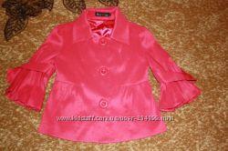 Модная розовая ветровка - пиджак