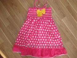 Модные, нарядные платья, тунички и сарафаны от 3-6лет