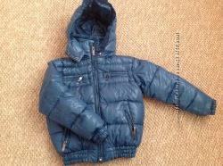 Куртка пуховик зимняя heach junior Италия размер 6