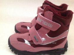 Зимние термо ботинки мембрана Del tex германия р 28