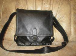 Кожаная мужская сумка пошита на заказ