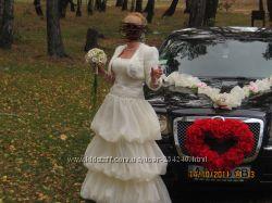 Свадебное оригинальное платье