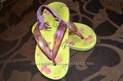Пляжные шлепки  вьетнамки для девочки