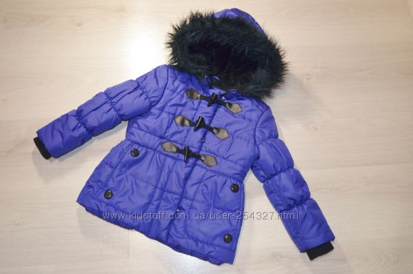 Фирменная демисезонная курточка для девочки London Fog