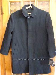 Шерстяное пальто в классическом стиле весна-осень