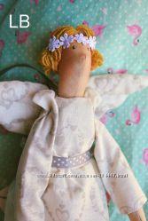 Ангел тильда -приятный подарок
