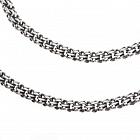 Серебряные цепи и браслеты различного плетения, цены шикарные
