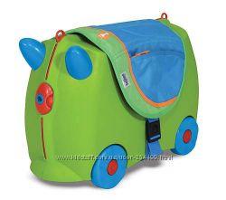Игрушки Melissa and Doug - детские чемоданы Tranki, деревянные игрушки