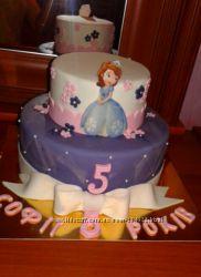 Торты заказ в Киеве  выпечка день рождения крестины юбилей свадьба