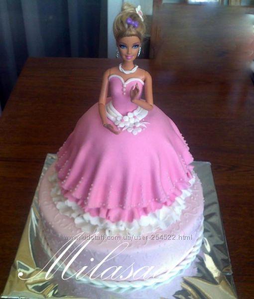Фотографии торта с куклой