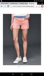 Стильные шорты GAP 8 tall