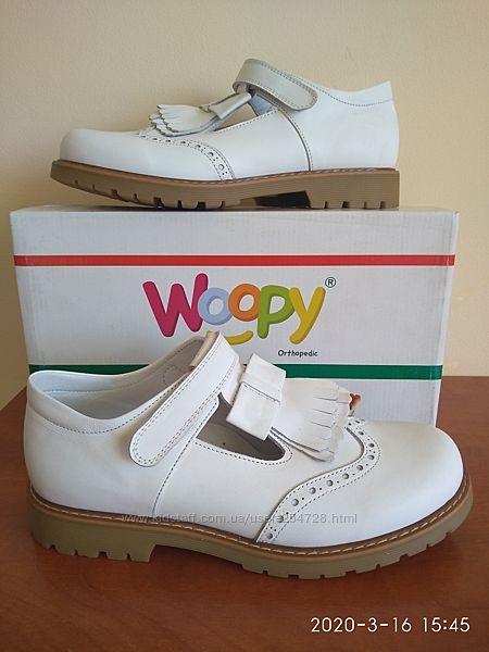 Новые кожаные туфли Woopy, срочно