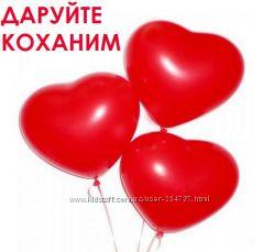 Гелиевые шары для влюбленных