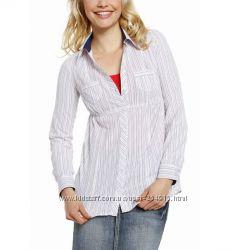 женские рубашки с коротким и длинным рукавом  c C&A