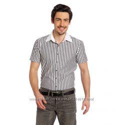 Мужские рубашки с коротким рукавом лето с C&A
