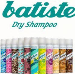 Сухой шампунь Batiste Dry Shampoo Мытье волос  без воды в дороге, на роботе