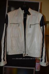 Натуральная кожаная куртка мужская Поло Гараж размер Л-ХЛ