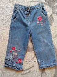 Легкие джинсы Mini Mode на девочку 2 лет в хорошем состоянии