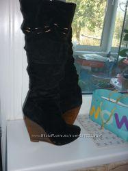 Зимние сапоги, размер 38, европейка