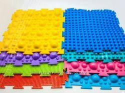 Массажный орто-коврик для лечения и профил. плоскостопия  5 видов