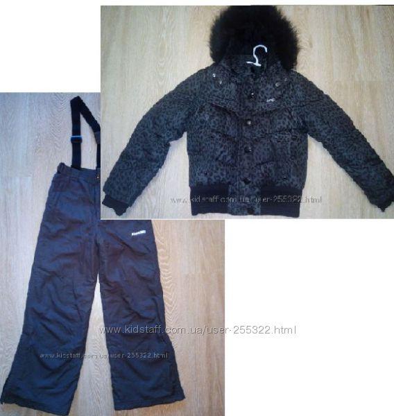 Комбинезон на 10-12 лет. Штаны новые, курточка бу. Можно не комплектом.