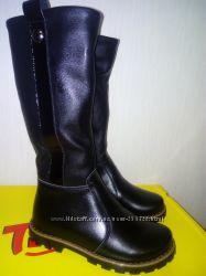 Распродажа кожаных новых зимних сапожек Tiranitos 30 р.