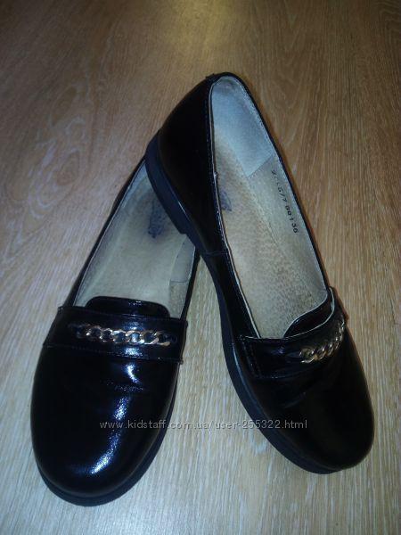 В отличном состоянии кожаные туфли Tiranitos 36 р.