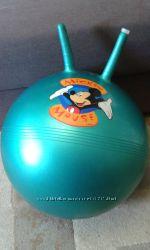 Фитбол гимнастический мяч с рожками надувной, 40 см