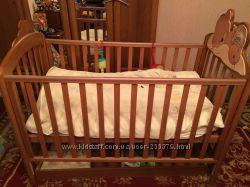 Детская кроватка Baby Italia Baba