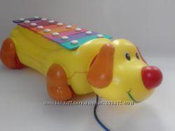 собачка-ксилофон на колёсах